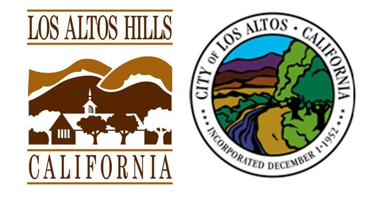 Town of Los Altos Hills and City of Los Altos Logos