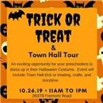 Trick or Treat time change