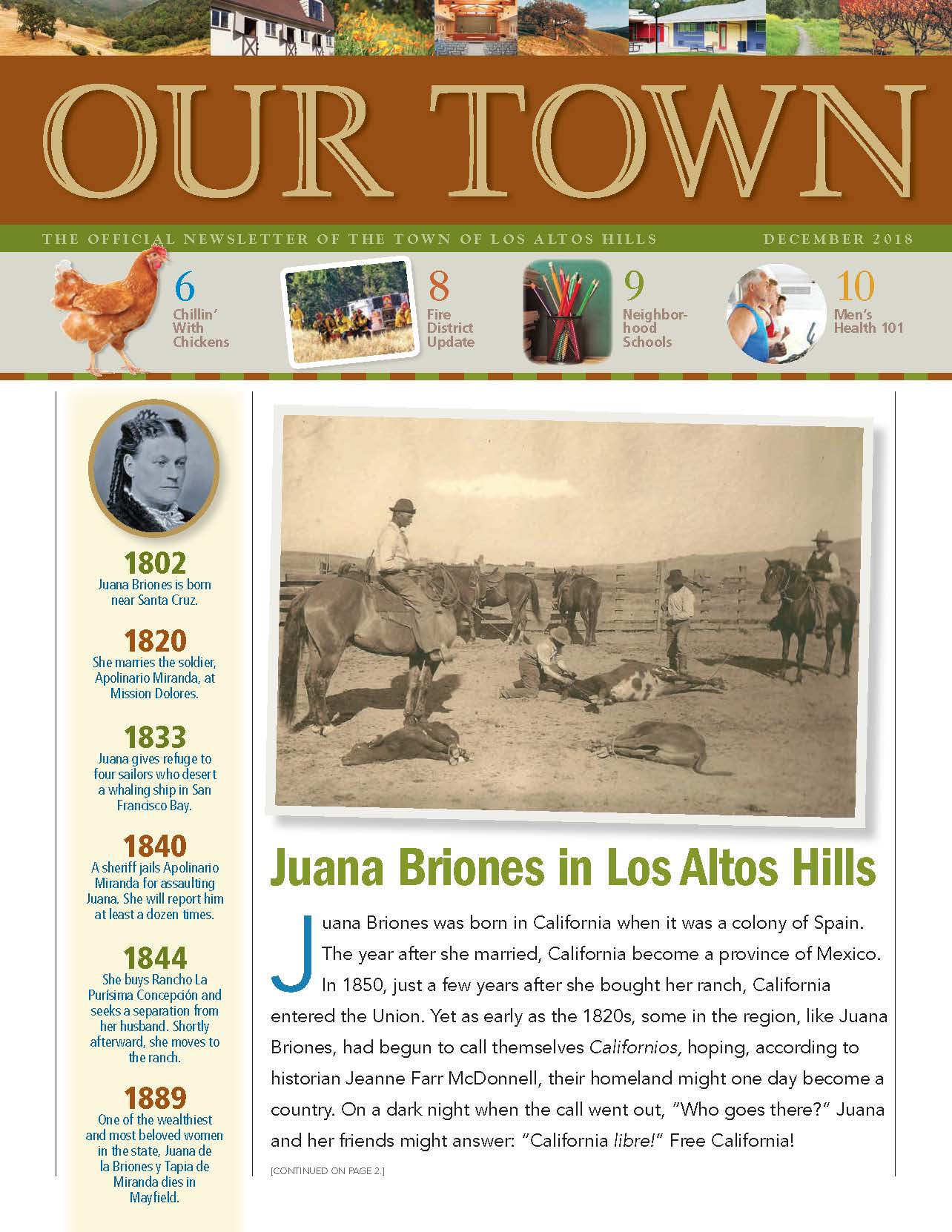 LAH-our town current cover