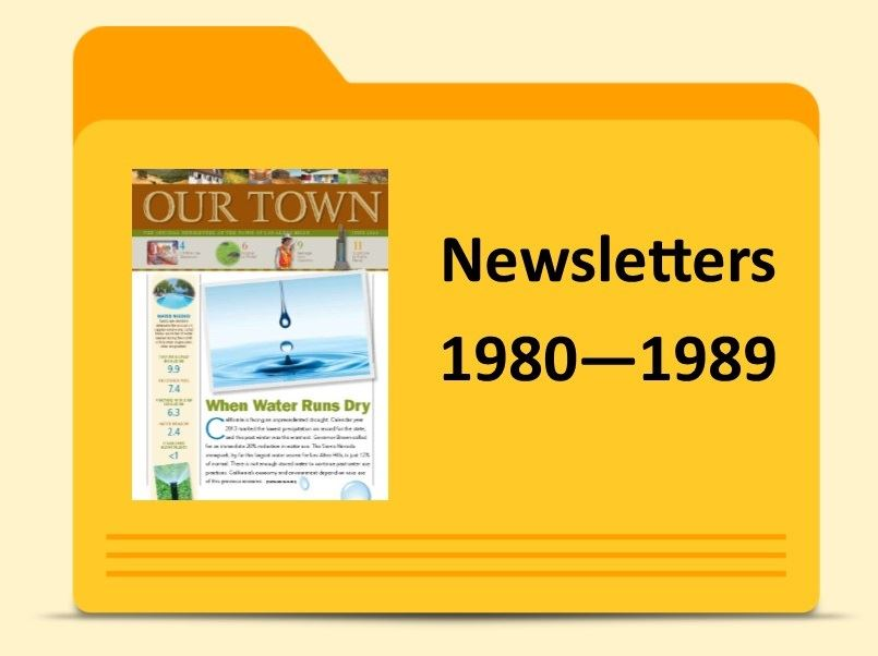 Newsletters -1980 - 1989