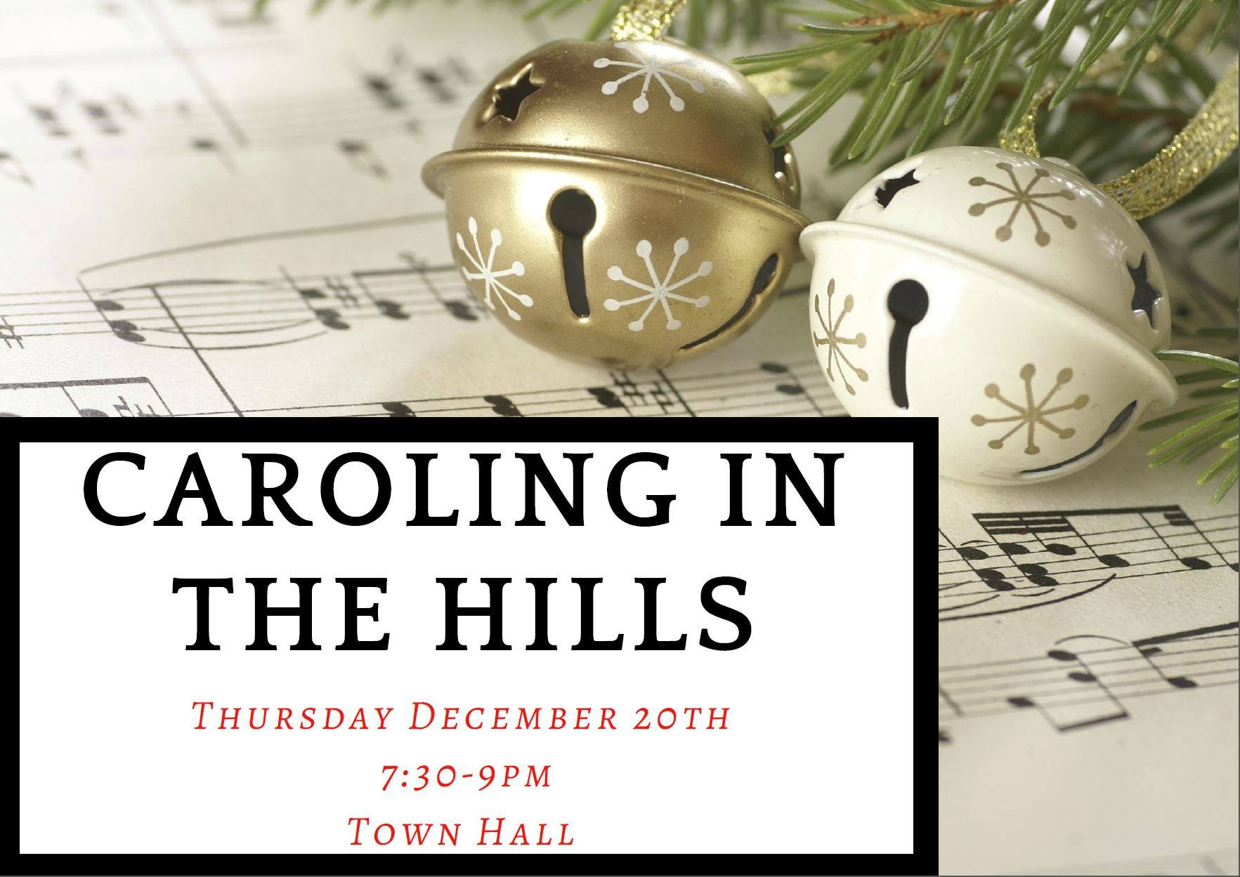 caroling in the hills