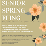 2nd Annual Senior Spring Fling