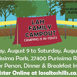 Family Campout Flyer