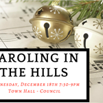 Caroling in the Hills Flyer
