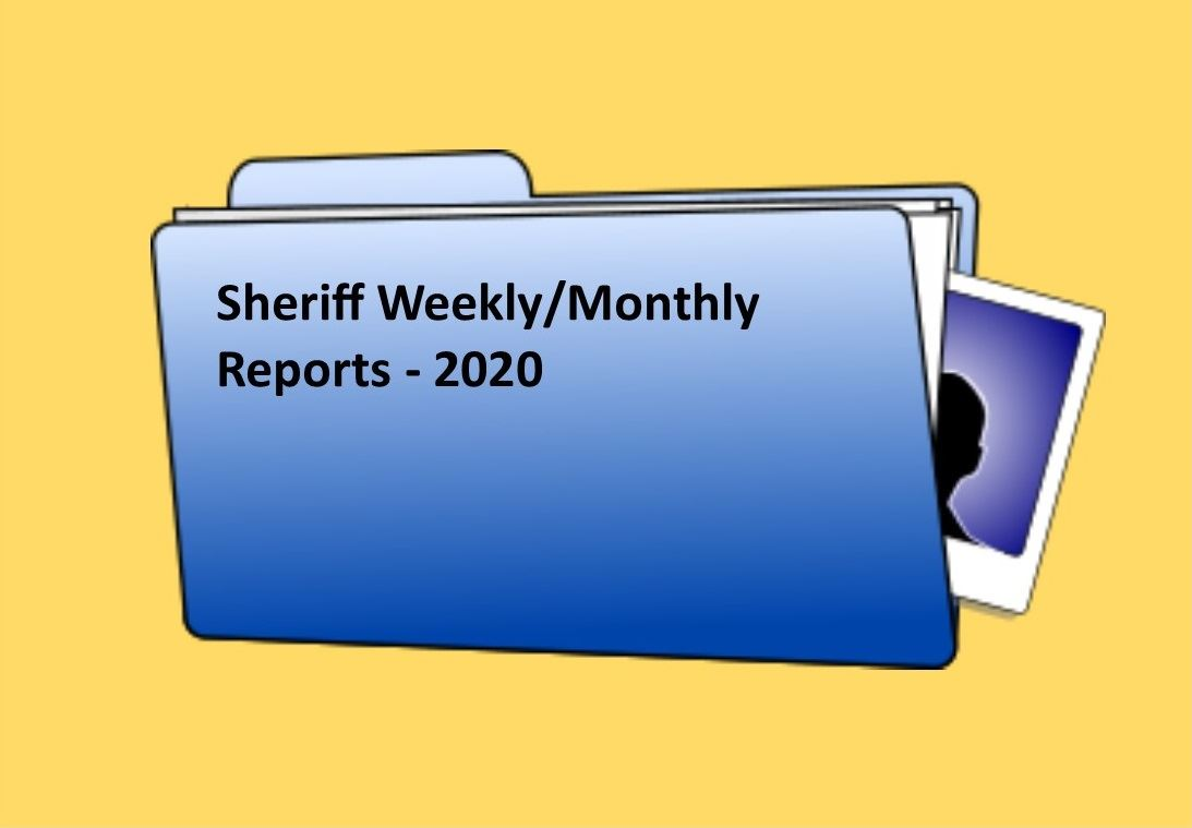 Sheriff Report Template - 2020 final