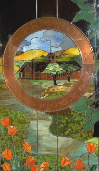 Town Seal Stained Glass