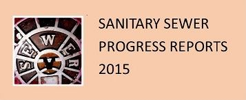 Sanitary Sewer Progress Reports 2015 updated