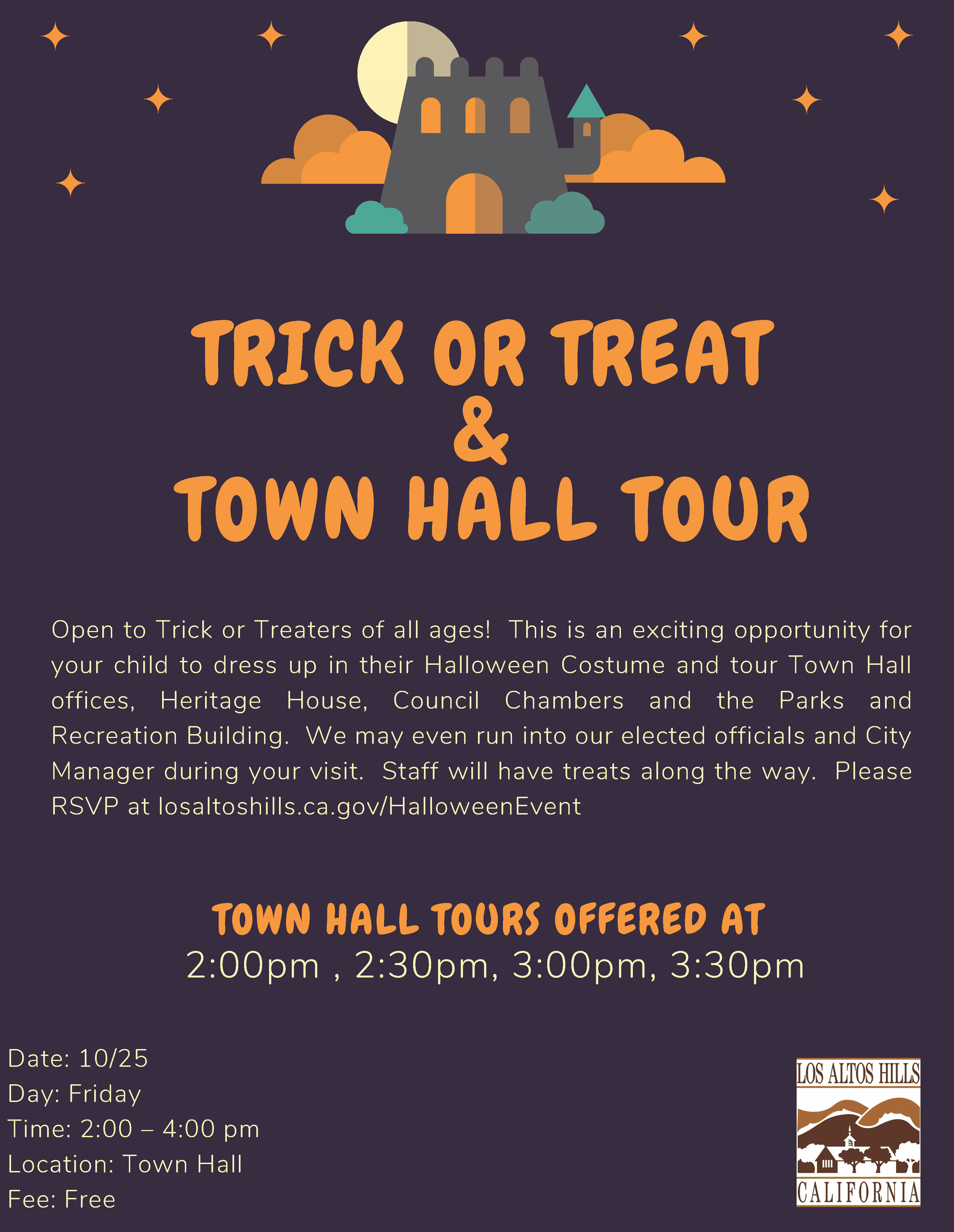 trick or treat and tour
