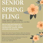 3rd Annual Senior Spring Fling_2020 Flyer