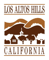 Los Altos Hills California Logo