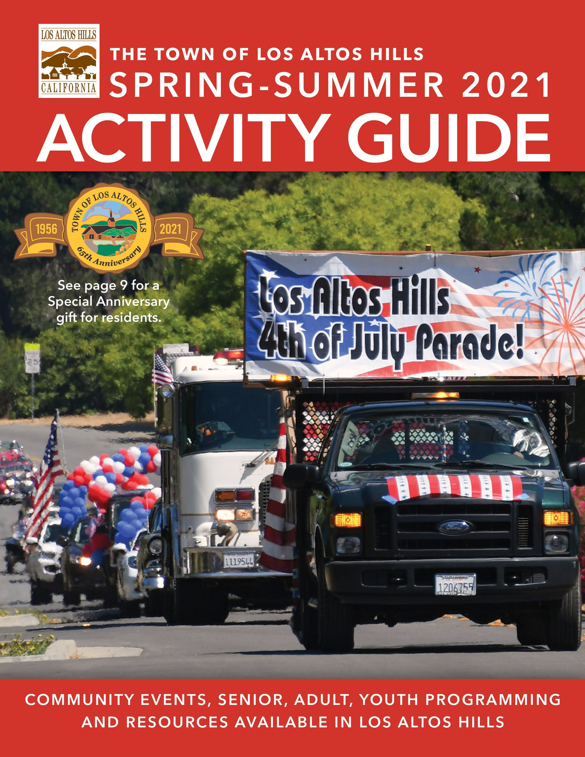 Spring Summer 2021 Activity Guide Cover